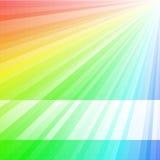 De Achtergrond van de regenboog stock illustratie