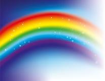 De achtergrond van de regenboog Stock Foto's