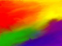 De Achtergrond van de regenboog Stock Afbeeldingen