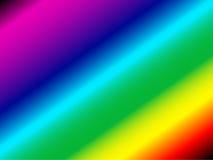 De achtergrond van de regenboog Stock Afbeelding