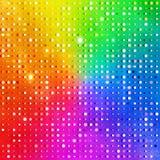 De achtergrond van de regenboog Royalty-vrije Stock Foto