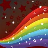 De achtergrond van de regenboog Royalty-vrije Stock Fotografie