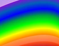 De Achtergrond van de regenboog Stock Foto