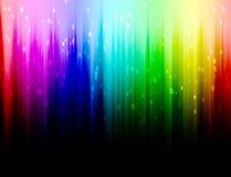 De Achtergrond van de regenboogkleur Stock Afbeeldingen