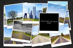 De achtergrond van de reis Stock Fotografie
