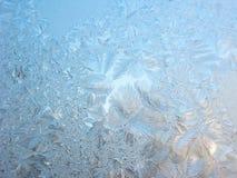 De achtergrond van de rexturewinter van sneeuwvlokken Stock Foto