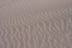 De Achtergrond van de Rimpeling van het zand Stock Foto