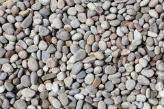 De Achtergrond van de riviersteen Stock Foto