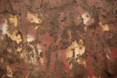 De achtergrond van de roest Groen en bruin royalty-vrije stock foto's
