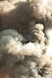 De achtergrond van de rook   Stock Fotografie