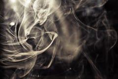 De achtergrond van de rook Royalty-vrije Stock Afbeelding