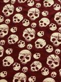 De achtergrond van de schedel. Halloween. Royalty-vrije Stock Afbeeldingen