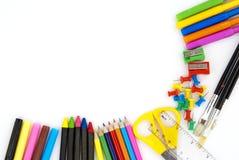 De achtergrond van de school Stock Afbeeldingen