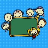 De achtergrond van de school royalty-vrije illustratie