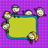 De achtergrond van de school Stock Foto's