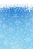 De achtergrond van de sneeuw Stock Foto's