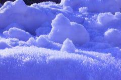 De achtergrond van de sneeuw Royalty-vrije Stock Afbeeldingen