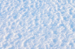De achtergrond van de sneeuw Stock Foto