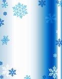 De achtergrond van de sneeuwvlok Royalty-vrije Stock Afbeelding
