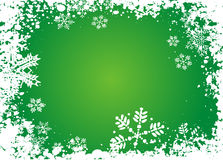 De achtergrond van de sneeuwvlok Royalty-vrije Stock Afbeeldingen