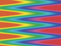 De achtergrond van de spectrumzigzag Stock Foto