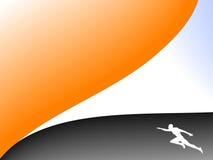De achtergrond van de sport Royalty-vrije Stock Fotografie