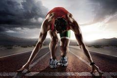 De achtergrond van de sport Stock Foto's