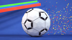 De Achtergrond van de sportenbal Royalty-vrije Stock Fotografie