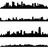 De achtergrond van de stad stock illustratie