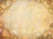 De Achtergrond van de Steampunktextuur Royalty-vrije Stock Afbeelding