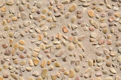 De achtergrond van de steengrond Royalty-vrije Stock Fotografie
