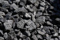 De achtergrond van de steenkool Stock Fotografie