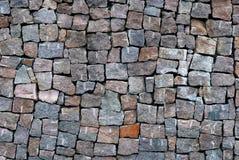 De achtergrond van de steenmuur Royalty-vrije Stock Foto