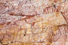 De achtergrond van de steentextuur Royalty-vrije Stock Afbeelding