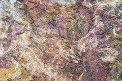 De achtergrond van de steentextuur, Purper en grijs Royalty-vrije Stock Fotografie