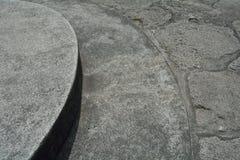 De achtergrond van de steenweg Royalty-vrije Stock Fotografie