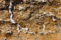 De achtergrond van de steile rots Royalty-vrije Stock Foto's