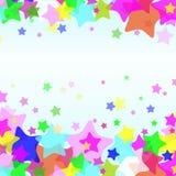 De achtergrond van de ster stock illustratie