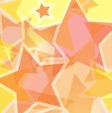 De achtergrond van de ster Stock Afbeeldingen