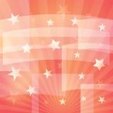 De achtergrond van de ster Royalty-vrije Stock Afbeelding
