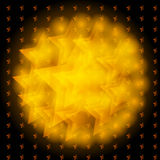 De achtergrond van de ster Royalty-vrije Stock Afbeeldingen
