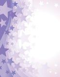 De Achtergrond van de ster royalty-vrije illustratie
