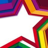 De achtergrond van de ster Royalty-vrije Stock Foto's