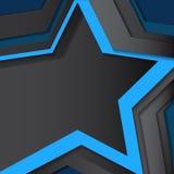De achtergrond van de ster Royalty-vrije Stock Fotografie