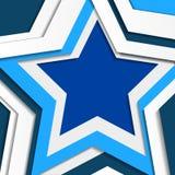 De achtergrond van de ster Royalty-vrije Stock Foto