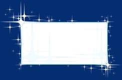 De achtergrond van de ster Stock Afbeelding
