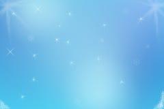 De Achtergrond van de ster. Stock Foto's