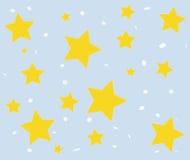 De achtergrond van de ster stock foto
