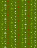 De Achtergrond van de Sterren van Kerstmis Stock Fotografie