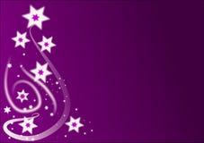 De Achtergrond van de Sterren van Kerstmis Royalty-vrije Stock Afbeeldingen
